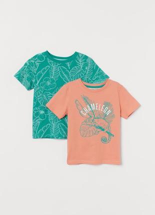 Набор футболок футболка для мальчика от h&m