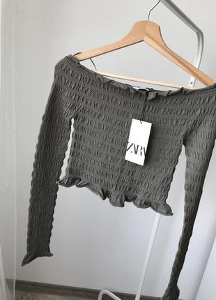 Zara топ пуловер свитер