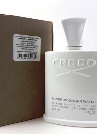 💯оригинальный тестер 💎 silver mountain water creed 100 ml💎 сильвер крид