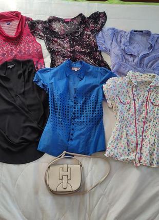 Пакет женской одежды плюс сумочка