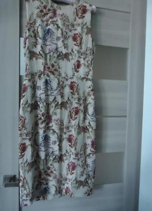 Фирменное шелковое платье, 100% шелк. оригинал