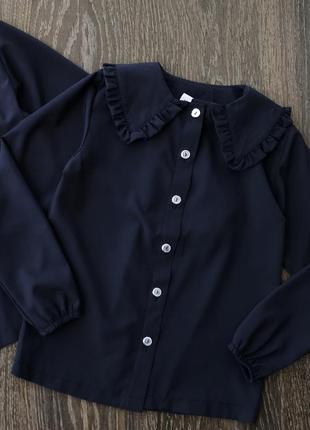 Школьная блуза в 4х цветах