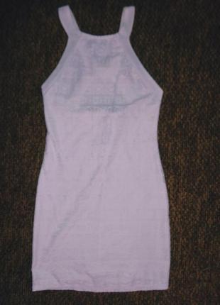Платье кружевное ажурное легкое хс-с цвет айвори на фото не передает