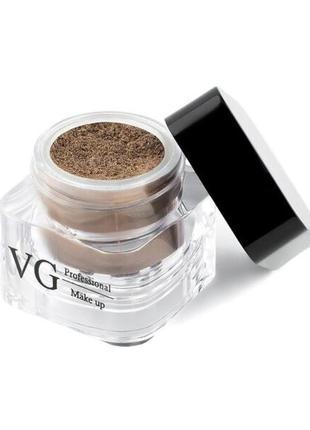 Тени рассыпчатые pro vg тон 113 шоколад