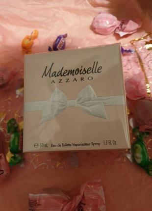 Туалетная вода оригинал azzaro mademoiselle 50 мл