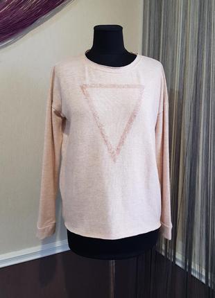 Красивый розовый свитер mavi