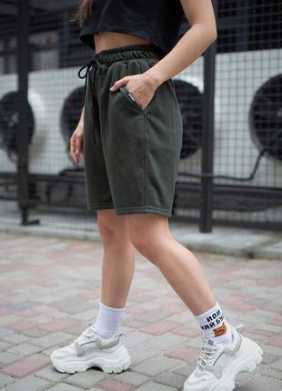 Шорти without basic khaki woman