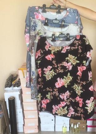 💥распродажа🔥большие размеры,разные цвета!футболка,туника,блузка4 фото