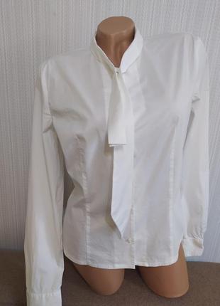 Белая рубашка блузка hugo boss