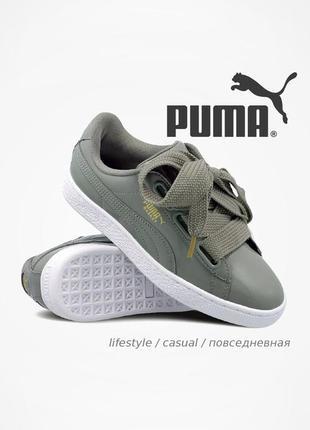 Кросівки puma basket heart patent 💯 оригинал!