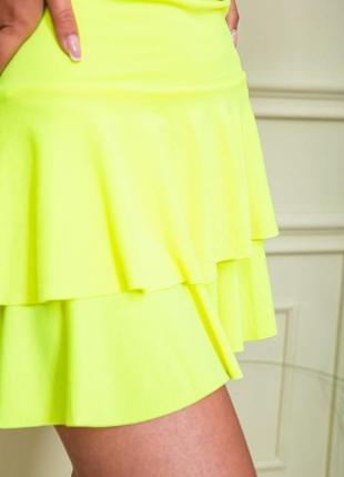 3 цвета юбки клёш мини высокая посадка