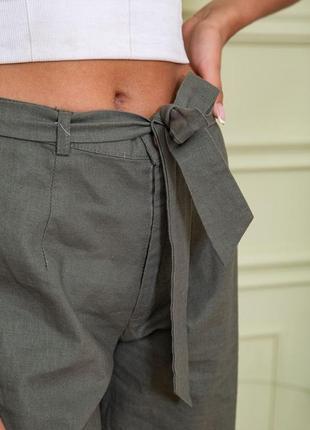 Хаки брюки штаны крутые для стильной