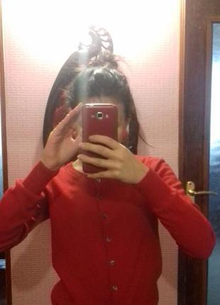 Красный джемпер gant