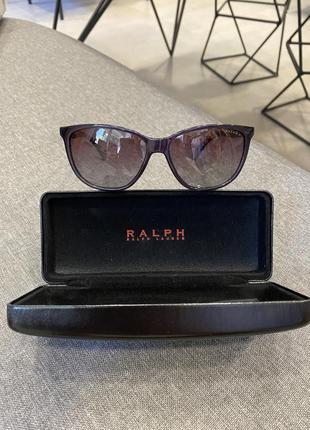 Солнцезащитные очки ralph lauren, ральф лорен, ральф лоурен, оригинал, полный комплект