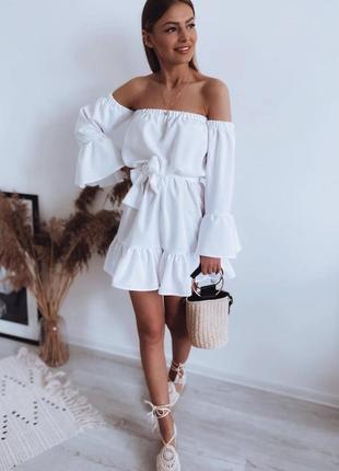 Белое платье 👗