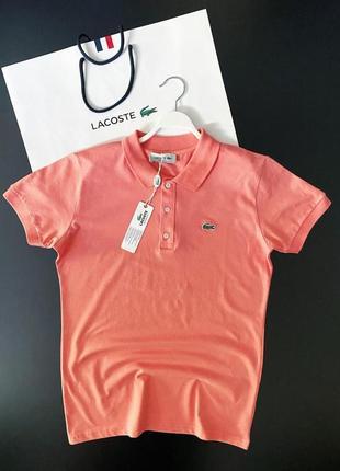 Брендовая футболка поло lacoste мужская | топ качество | турция | летняя 👍