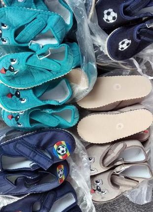 Детские тапочки. для мальчика,девочки , для детского сада.обувь. домашние тапки