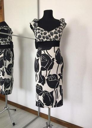 Нарядное платье футляр по фигуре karen millen