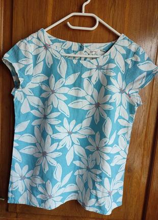 Красивая льняная блуза