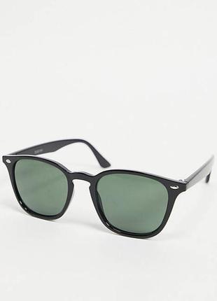 Новые черные солнцезащитные очки asos