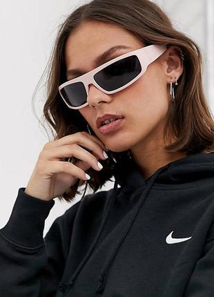 Новые розовые солнцезащитные очки в стиле 00х asos