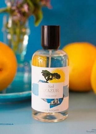 Парфюмированная вода для женщин sel d'azur от ив роше