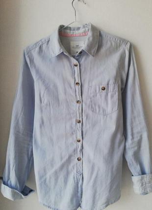 Рубашка хлопковая h&m