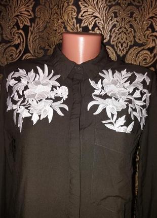 Вышиванка рубашка асиметричная