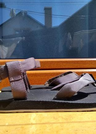 Босоножки сандалии teva 1004004 black sandals 47р