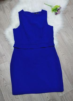 Женское деловое платье футляр mango приталенное сукня