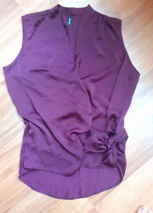 Акція 1+1=3 блуза на зав'язці збоку