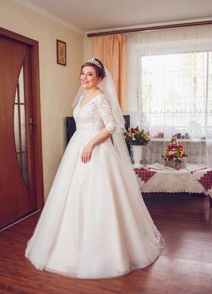 Весільна сукня розмір м