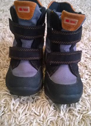 Зимние ботинки elefanten 25 р