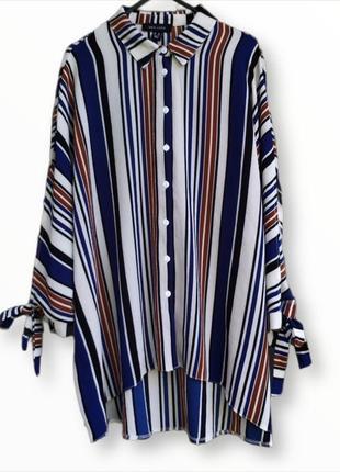 Крутая рубашка блузка оверсайз new look