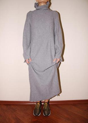 Платье оригинал maison martin margiela h&m 100% wool
