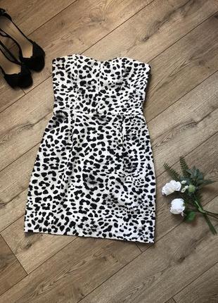 H&m сатиновое платье,размер 40м
