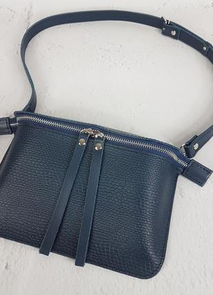Женская кожаная сумка нэкст