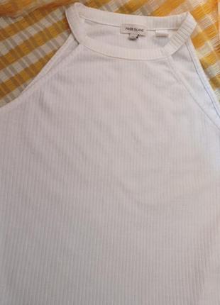 Базовый белый топ2 фото