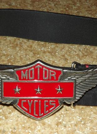 Кожаный ремень motor cycles
