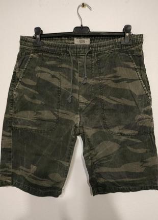 W33 w34 w32 fsbn шорты джинсовые камуфляж хаки zxc1 фото
