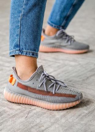 Adidas yeezy boost 350 🍏 стильные женские кроссовки адидас изи буст 350