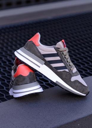 Adidas zx 500 rm 🍏 стильные женские мужские кроссовки адидас зх 500