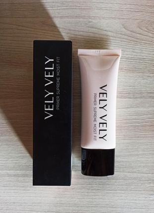 Увлажняющий праймер для лица от корейского бренда vely vely с spf 30