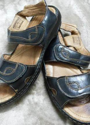 Босоножки ,сандали фирменные кожаные жен,41р.josef seibel.clarks