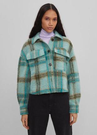 Теплая рубашка, рубашка пальто, куртка рубашка, рубашка шерстяная утепленная