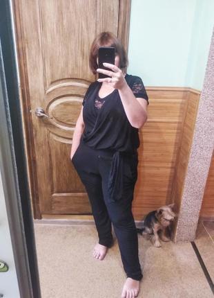 Дуже стильний комбінезон + блузка батл