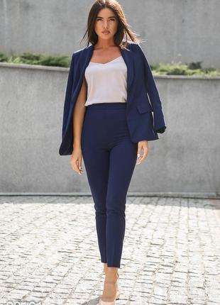 Синие брюки штаны по фигуре cos