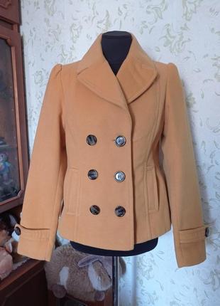 Пальто короткое демисезонное uk12