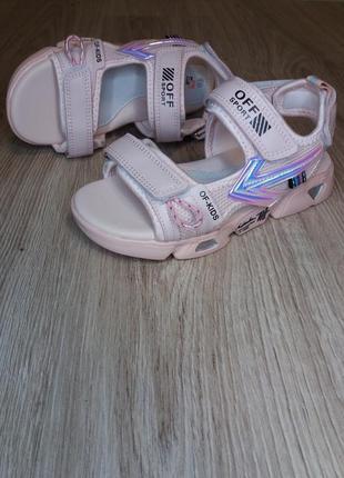 Босоножки на девочку. сандали на девочку.