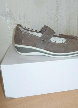 Супер комфортные кожаные туфельки от medicus